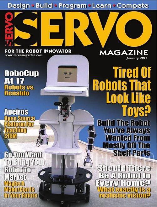 Servo Magazine №1 2015