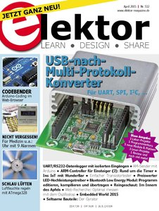 Elektor Electronics №4 2015 Germany