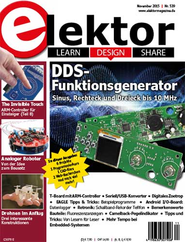 Elektor Electronics №11 2015 Germany