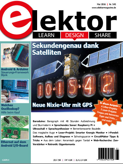 Elektor Electronics №5 2016 Germany
