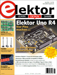 Elektor Electronics №6 2016 Germany