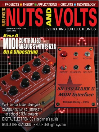 Nuts and Volts №4 2016