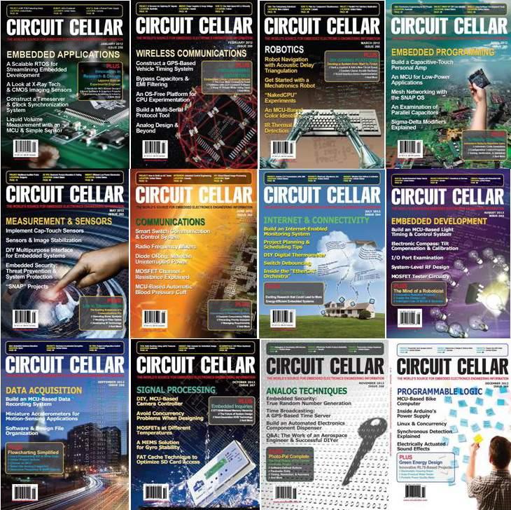 Circuit Cellar №1-12 2012