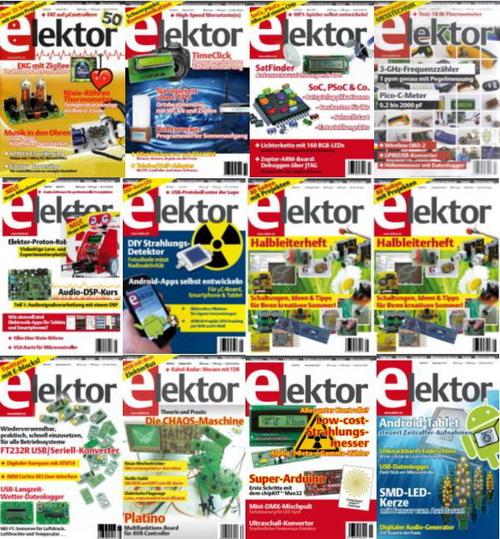 Elektor №1-10, 2013 (ориг)
