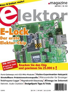 Elektor Electronics №4 2014 Germany