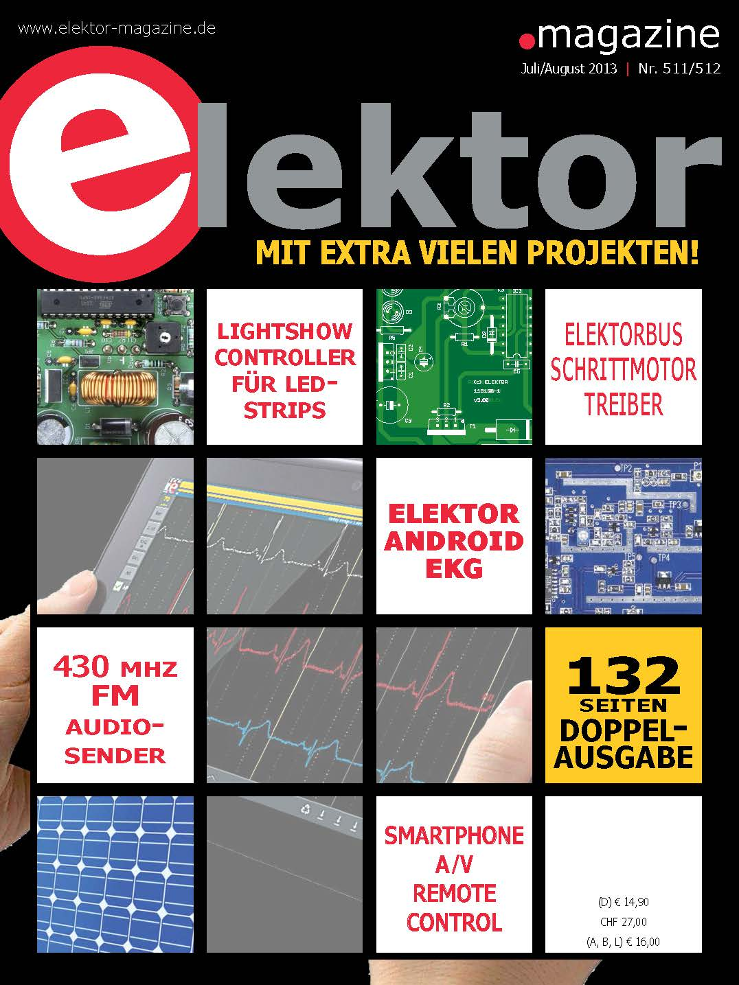 Elektor Magazine №7-8 2013 (Ger)