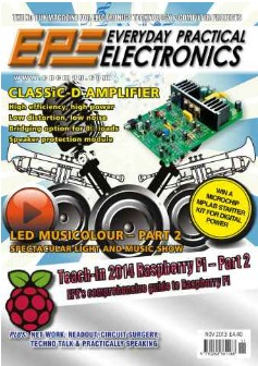 Everyday Practical Electronics №11 2013