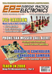 Everyday Practical Electronics №1 2008