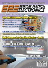 Everyday Practical Electronics №1 2011
