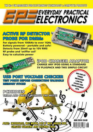 Everyday Practical Electronics №8 (August 2014)