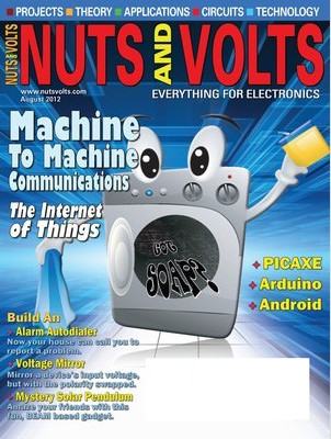Nuts and Volts № 8, 2012
