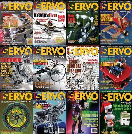Servo Magazine №1-12 2013
