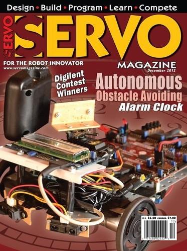 Servo Magazine №12,2012