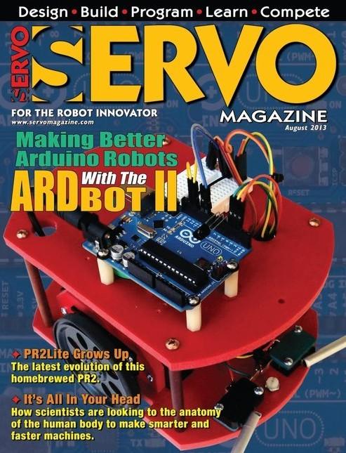 Servo Magazine №8,2013