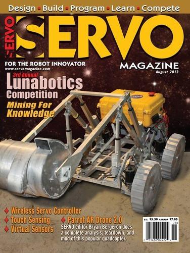 Servo Magazine №8, 2012