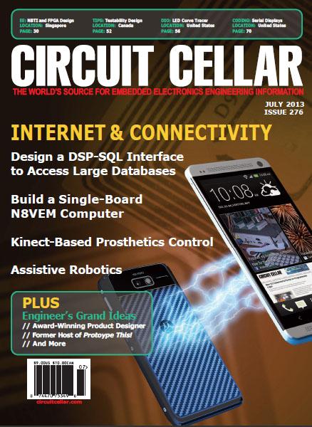 Circuit Cellar № 7 (276) 2013