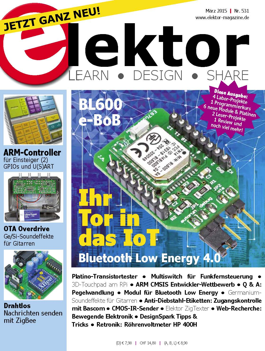 Elektor Electronics №3 2015 Germany