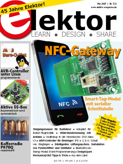 Elektor Electronics №5 2015 Germany