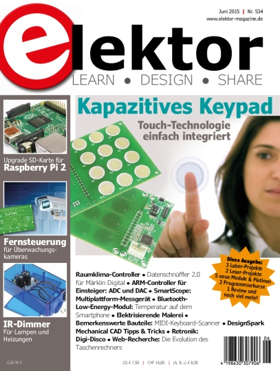 Elektor Electronics №6 2015 Germany
