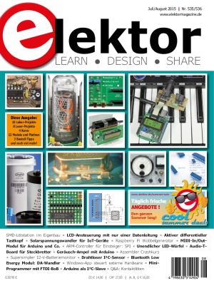 Elektor Electronics №7-8 2015 Germany