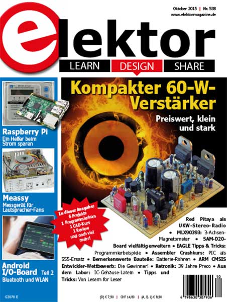 Elektor Electronics №10 2015 Germany