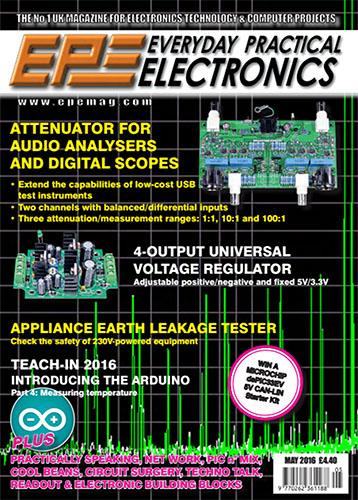 Everyday Practical Electronics №5 2016