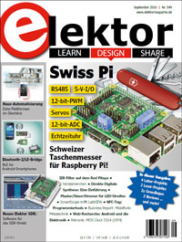 Elektor Electronics №9 2016 Germany