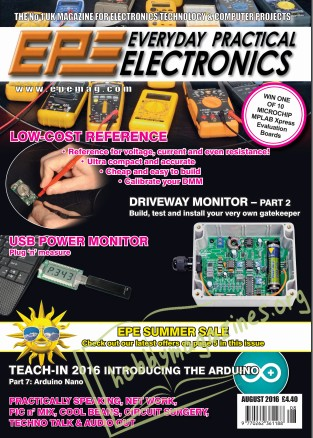 Everyday Practical Electronics №8 2016
