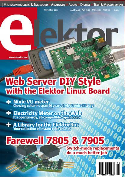 Elektor №11, 2012