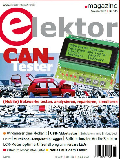 Elektor Electronics №11 2013 (Ger)
