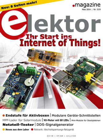 Elektor Electronics №3 2014 Germany