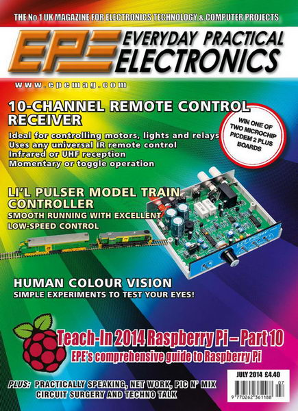 Everyday Practical Electronics №7 (July 2014)