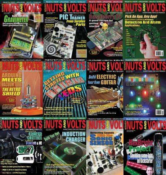 Nuts and Volts №1-12 2013