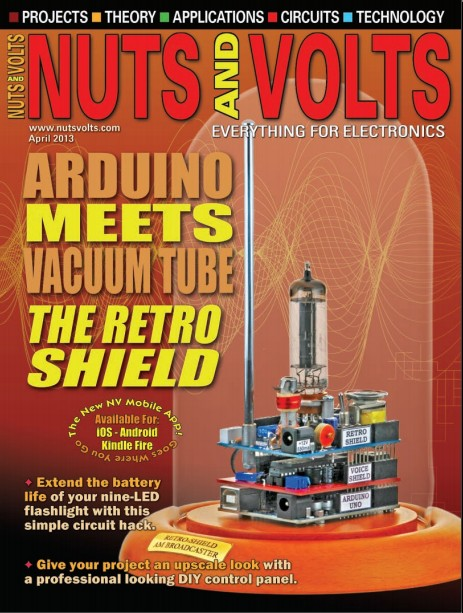 Nuts and Volts №4,2013