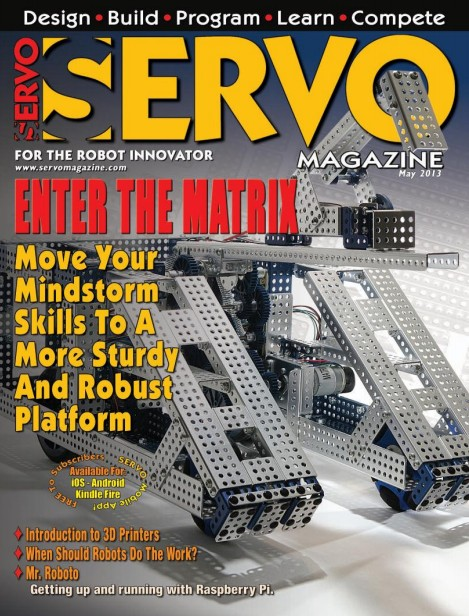 Servo Magazine №5,2013