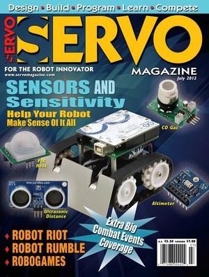 Servo Magazine №7, 2012