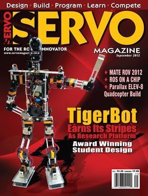 Servo Magazine №9, 2012